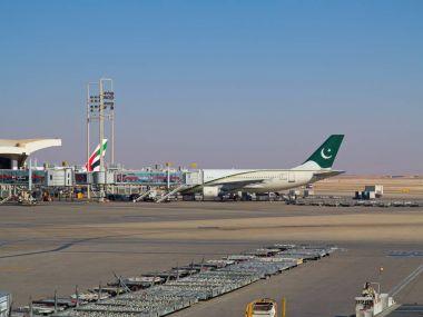 Planes at Riyadh King Khalid Airport
