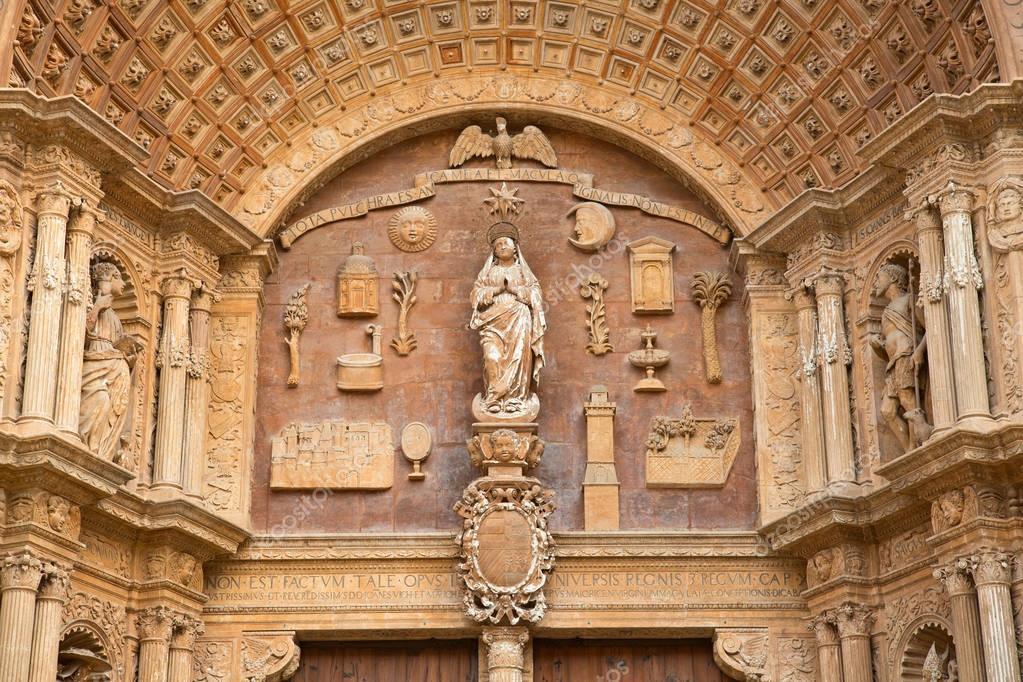 Palma de Mallorca city in Spain