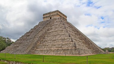 Ruins of the Chichen-Itza in Mexico