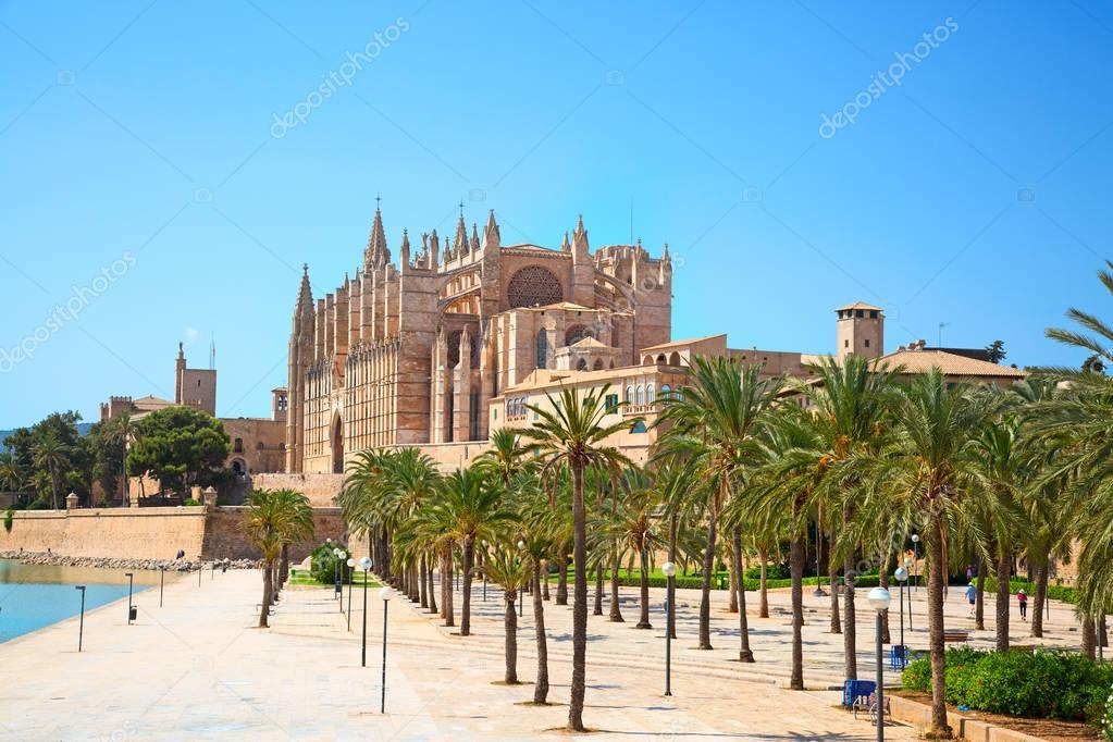 Palma de Mallorca city in Spain