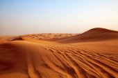 Photo Red sand Arabian desert near Riyadh, Saudi Arabia.