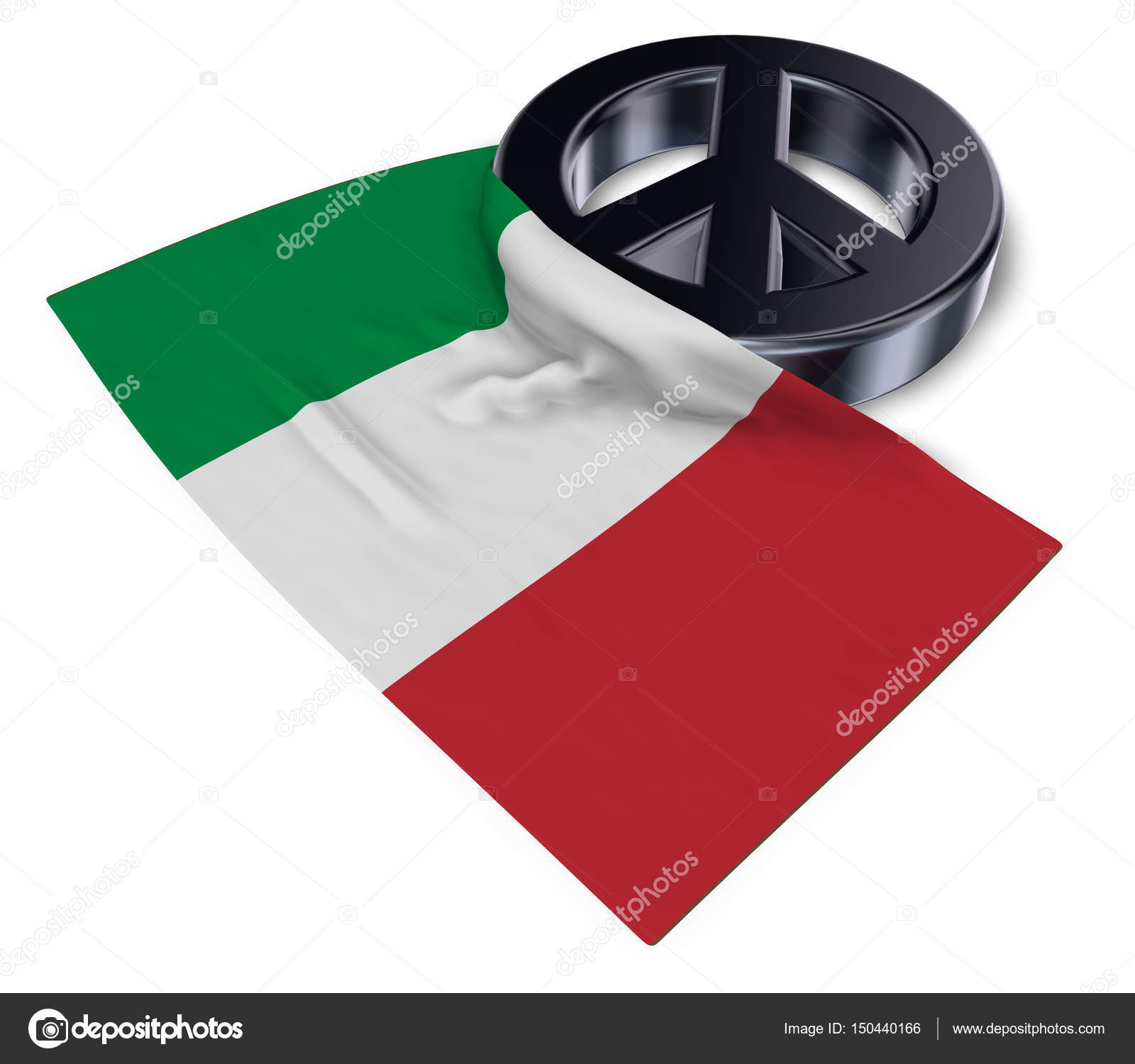 Peace symbol and flag of italy 3d rendering stock photo peace symbol and flag of italy 3d rendering stock photo biocorpaavc