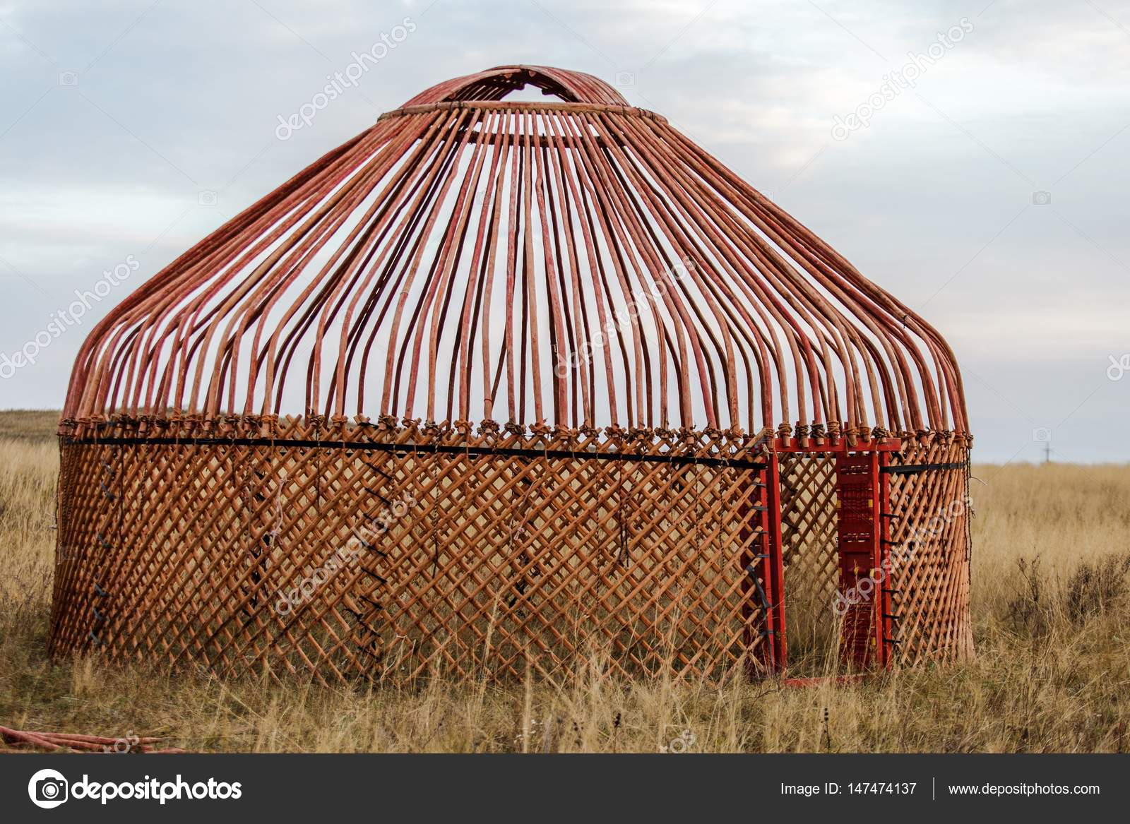 White Yurt - Nomadu0027s tent is the national dwelling of Kazakhstan people u2014 Stock Photo & White Yurt - Nomadu0027s tent is the national dwelling of Kazakhstan ...