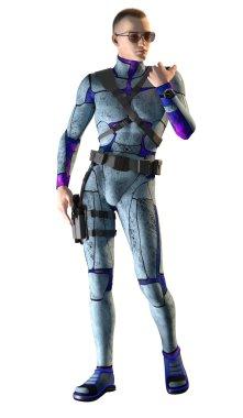 Sci-Fi Space Guard
