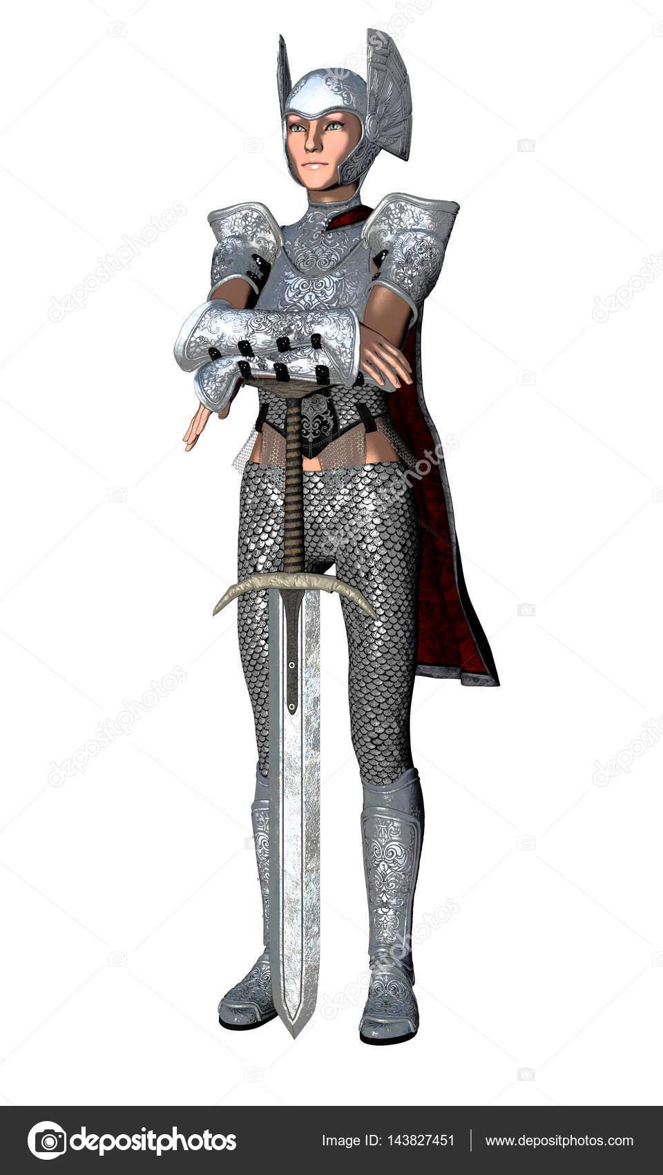 female knight guard stock photo surovtseva 143827451