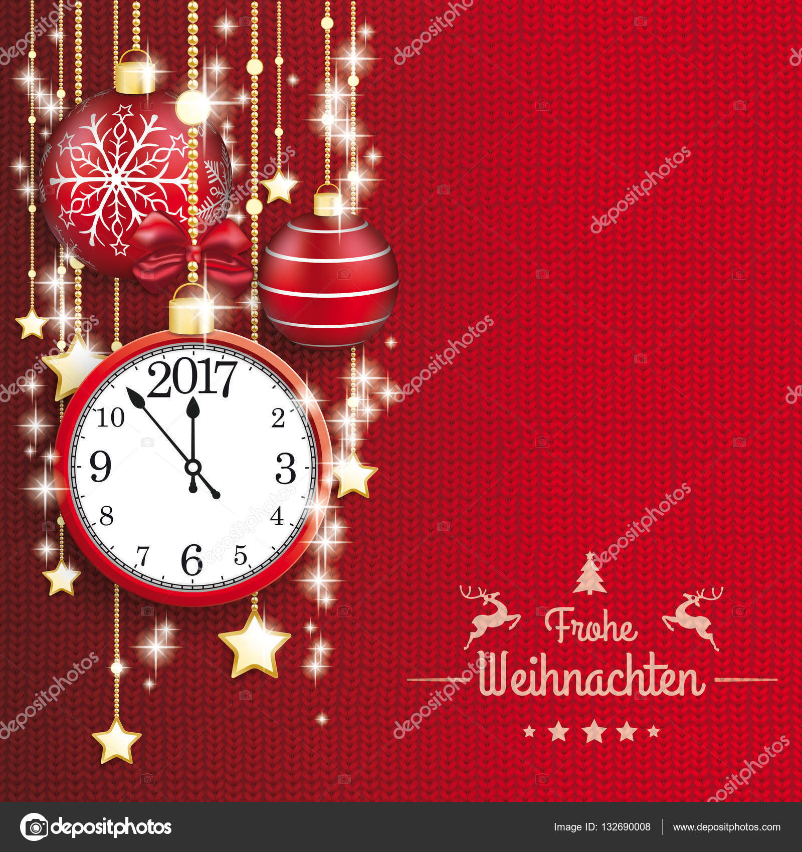 frohe weihnachten card stock vektor limbi007 132690008. Black Bedroom Furniture Sets. Home Design Ideas