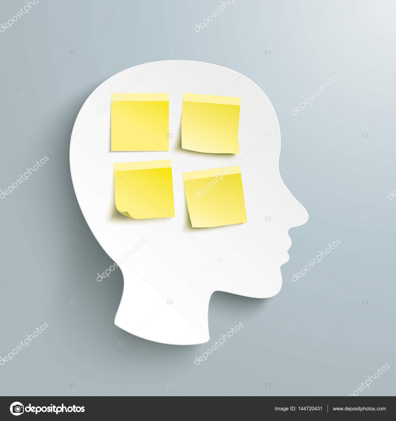 Palos amarillos con cabeza humana — Vector de stock © limbi007 ...