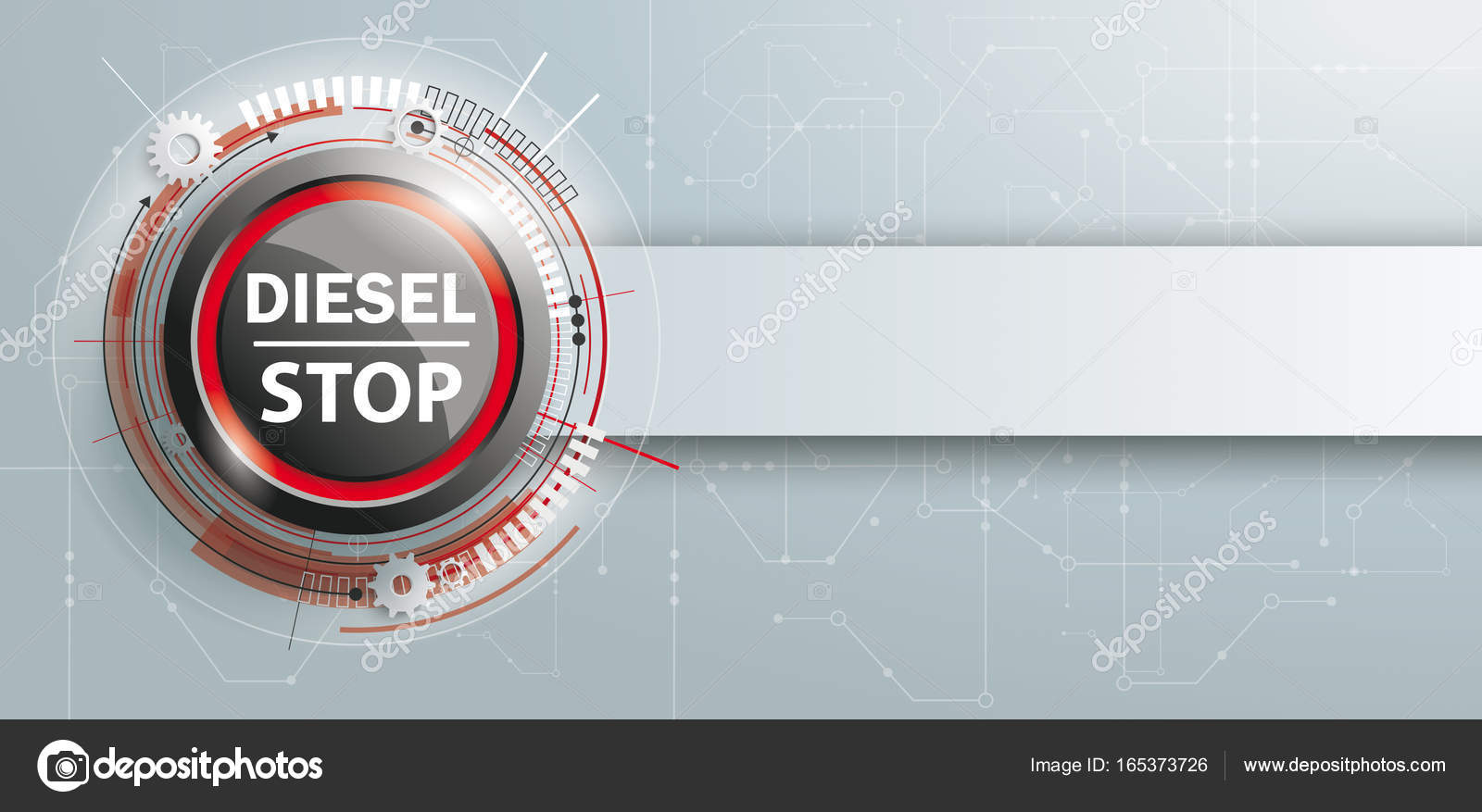 Diesel-Stop-Taste — Stockfoto © limbi007 #165373726