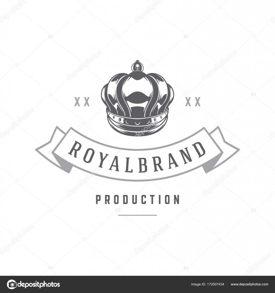 Plantilla de logotipo de corona de rey — Vector de stock © VikaSuh ...