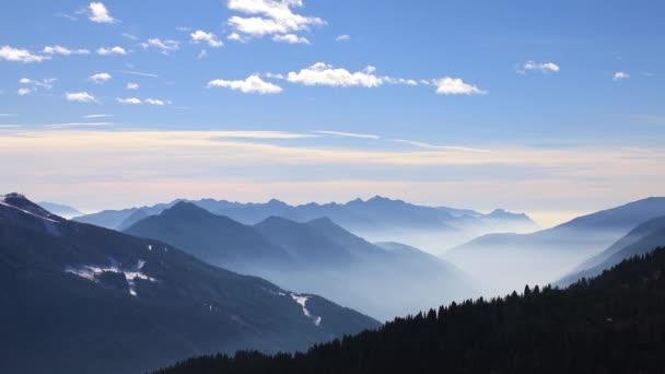 Mountain landscape of Dolomite Alps