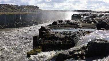 Selfoss waterfall in Iceland