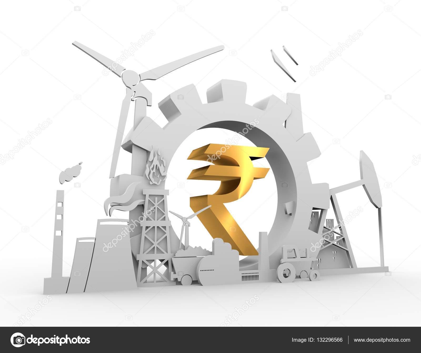 Golden indian rupee symbol stock photo jegasra 132296566 golden indian rupee symbol stock photo biocorpaavc Choice Image