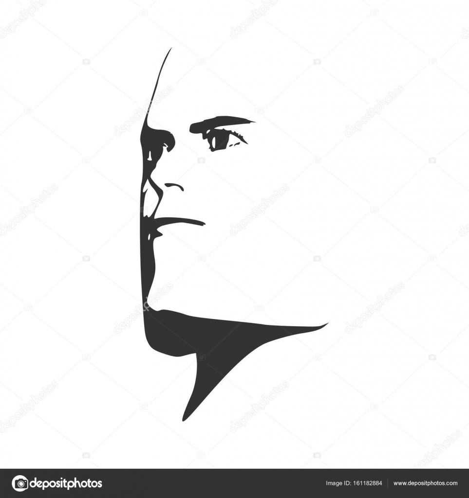 Brutal Bald Man With A Beard Vector Image By C Jegas Ra Vector Stock 161182884