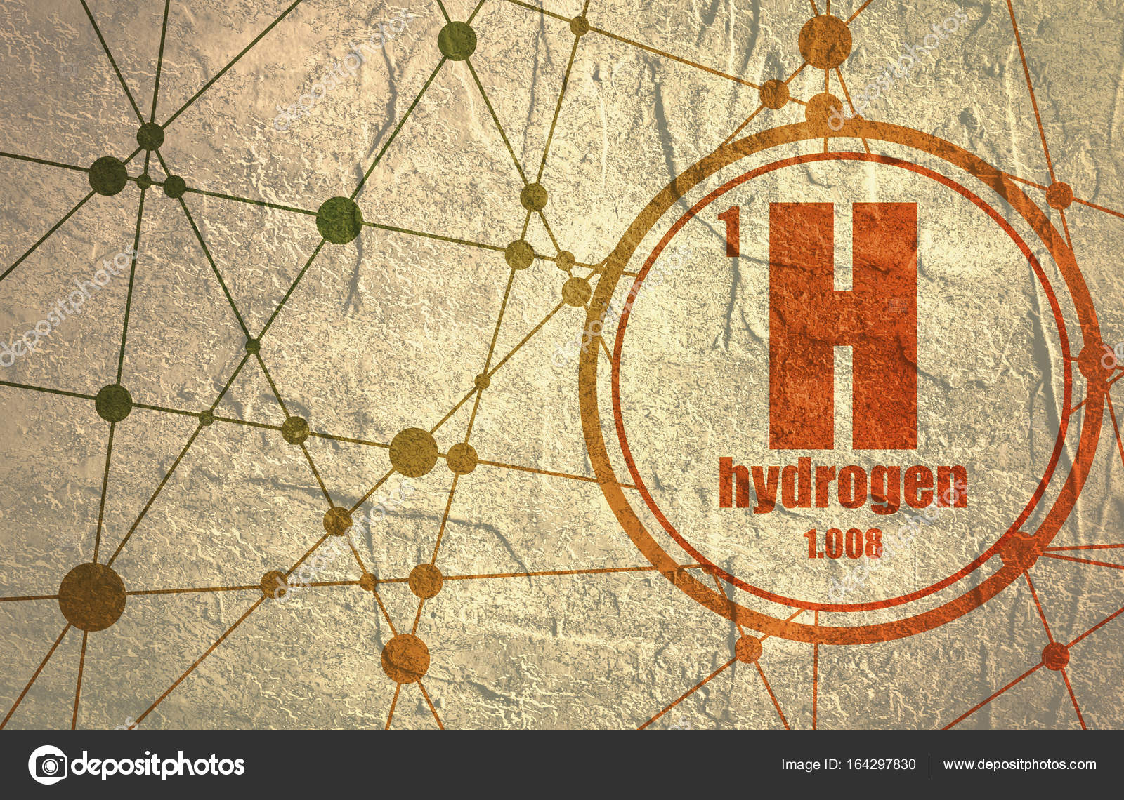 Hydrogen chemical element stock photo jegasra 164297830 hydrogen chemical element sign with atomic number and atomic weight chemical element of periodic table molecule and communication background urtaz Gallery