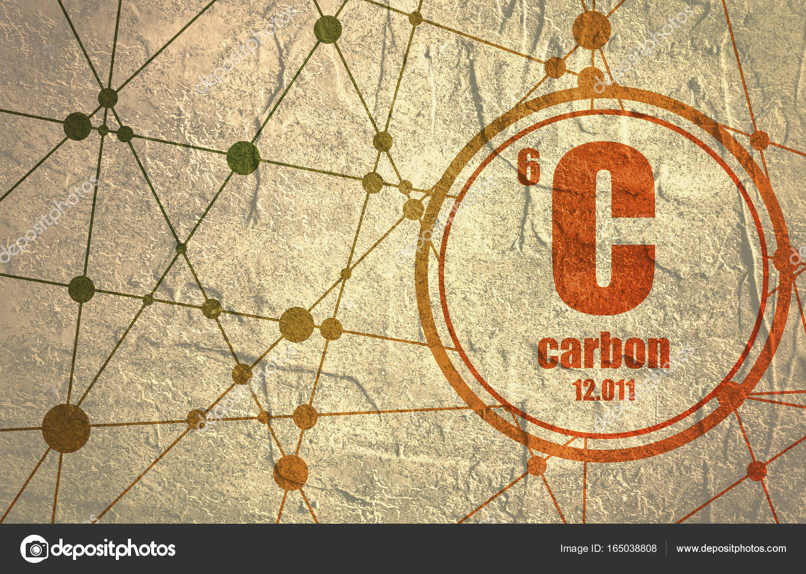 Carbon chemical element stock photo jegasra 165038808 carbon chemical element sign with atomic number and atomic weight chemical element of periodic table molecule and communication background urtaz Image collections