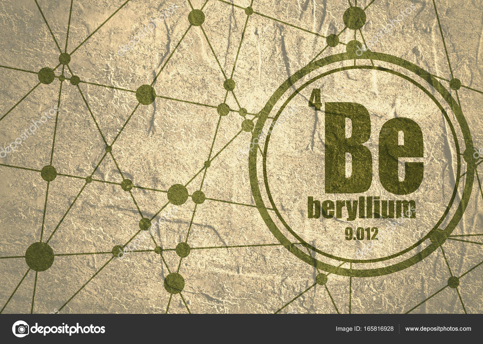 Beryllium chemical element stock photo jegasra 165816928 beryllium chemical element sign with atomic number and atomic weight chemical element of periodic table molecule and communication background biocorpaavc Images