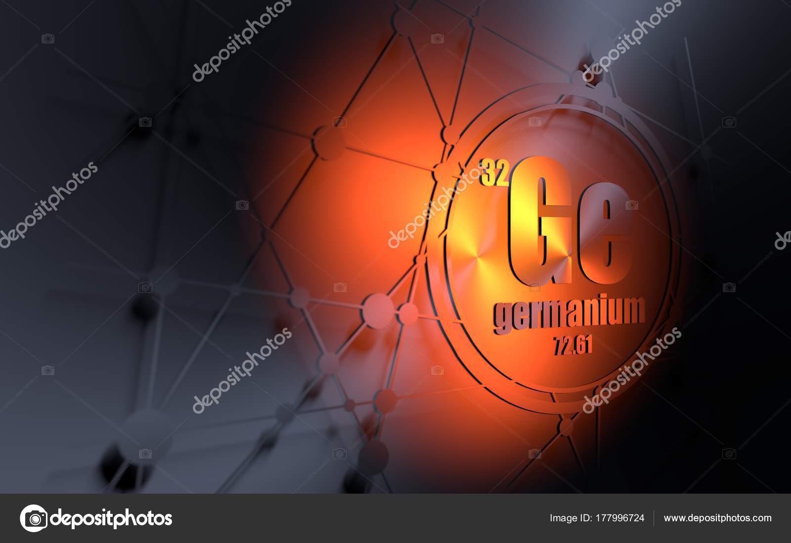 Elemento qumico germanio foto de stock jegasra 177996724 elemento qumico germanio firmar con el nmero atmico y peso atmico elemento qumico de tabla peridica fondo de molcula y de la comunicacin urtaz Gallery