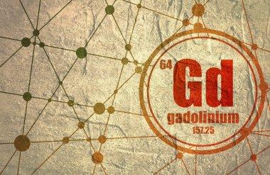 Gadolinium chemical element.