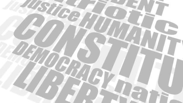 Koncept cloudu demokratických značek