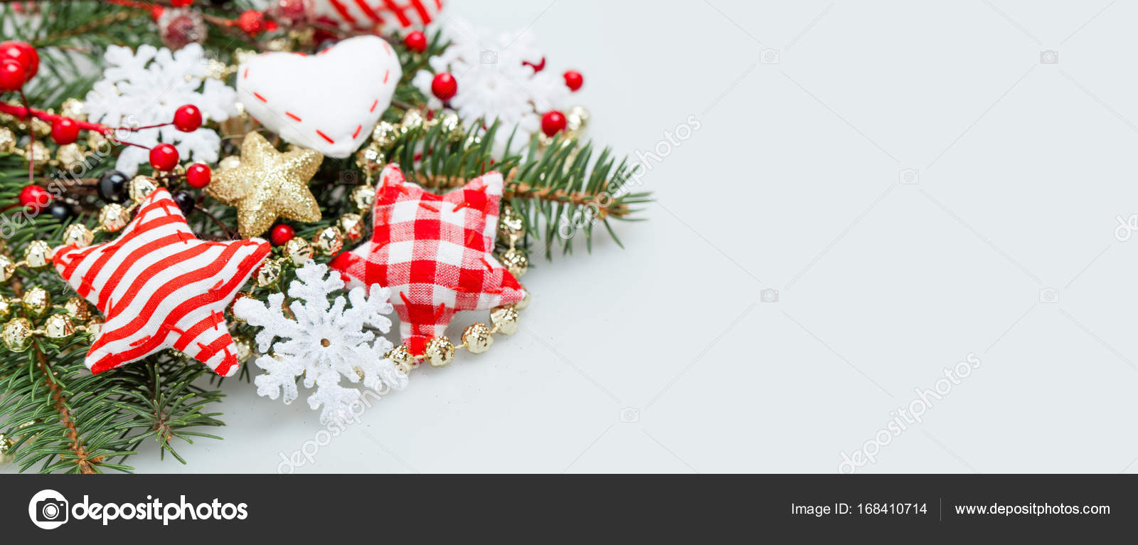 Christmas Banner.Christmas Banner Background With White Snowflake Xmas Tree