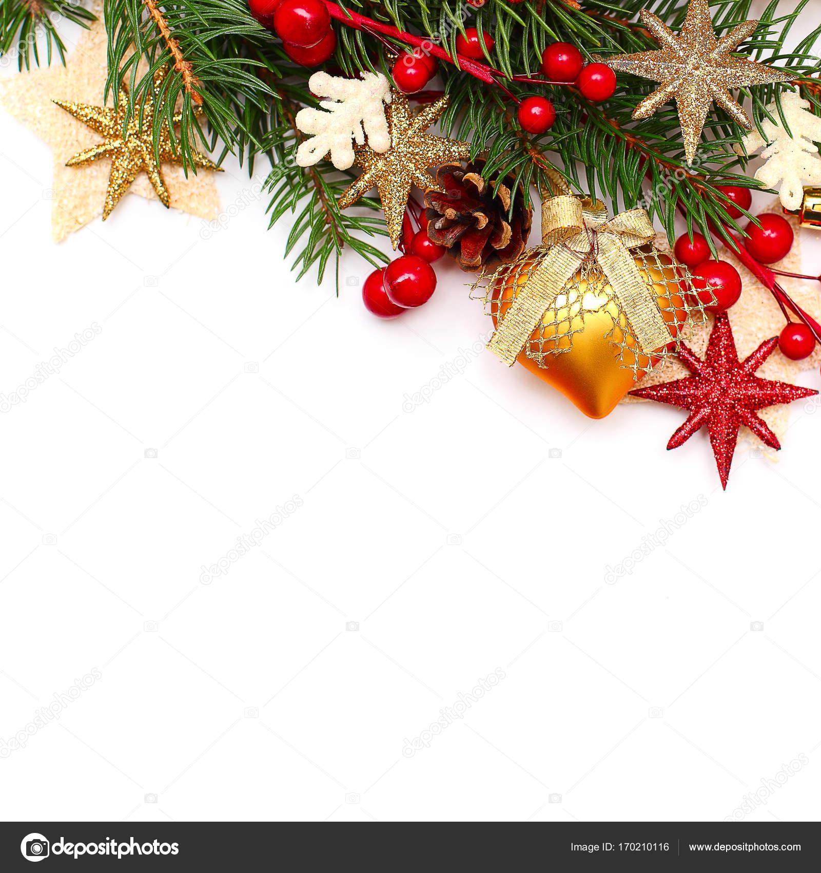weihnachten hintergrund rand auf wei em hintergrund. Black Bedroom Furniture Sets. Home Design Ideas