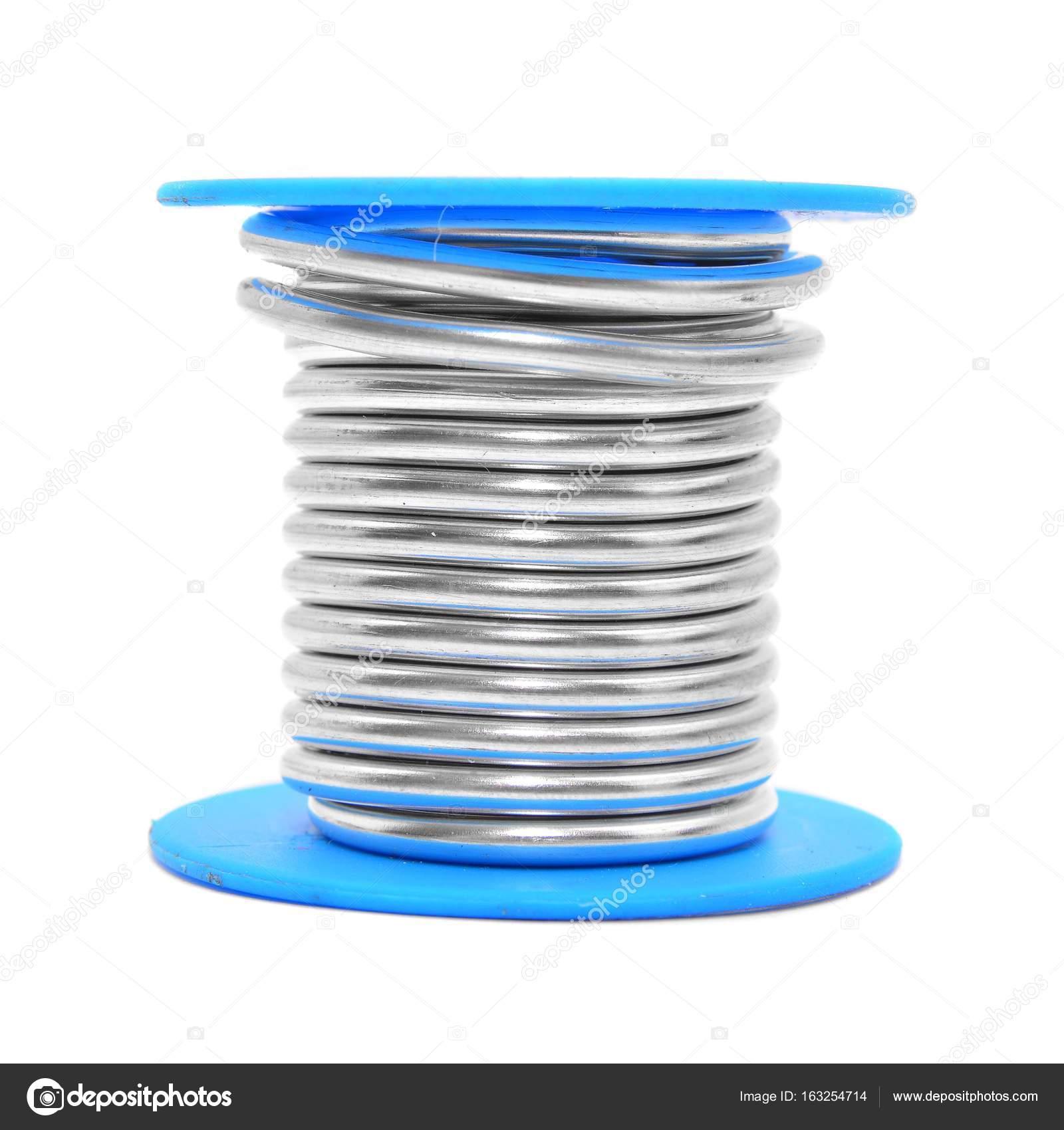 solder wire spool — Stock Photo © ibogdan #163254714