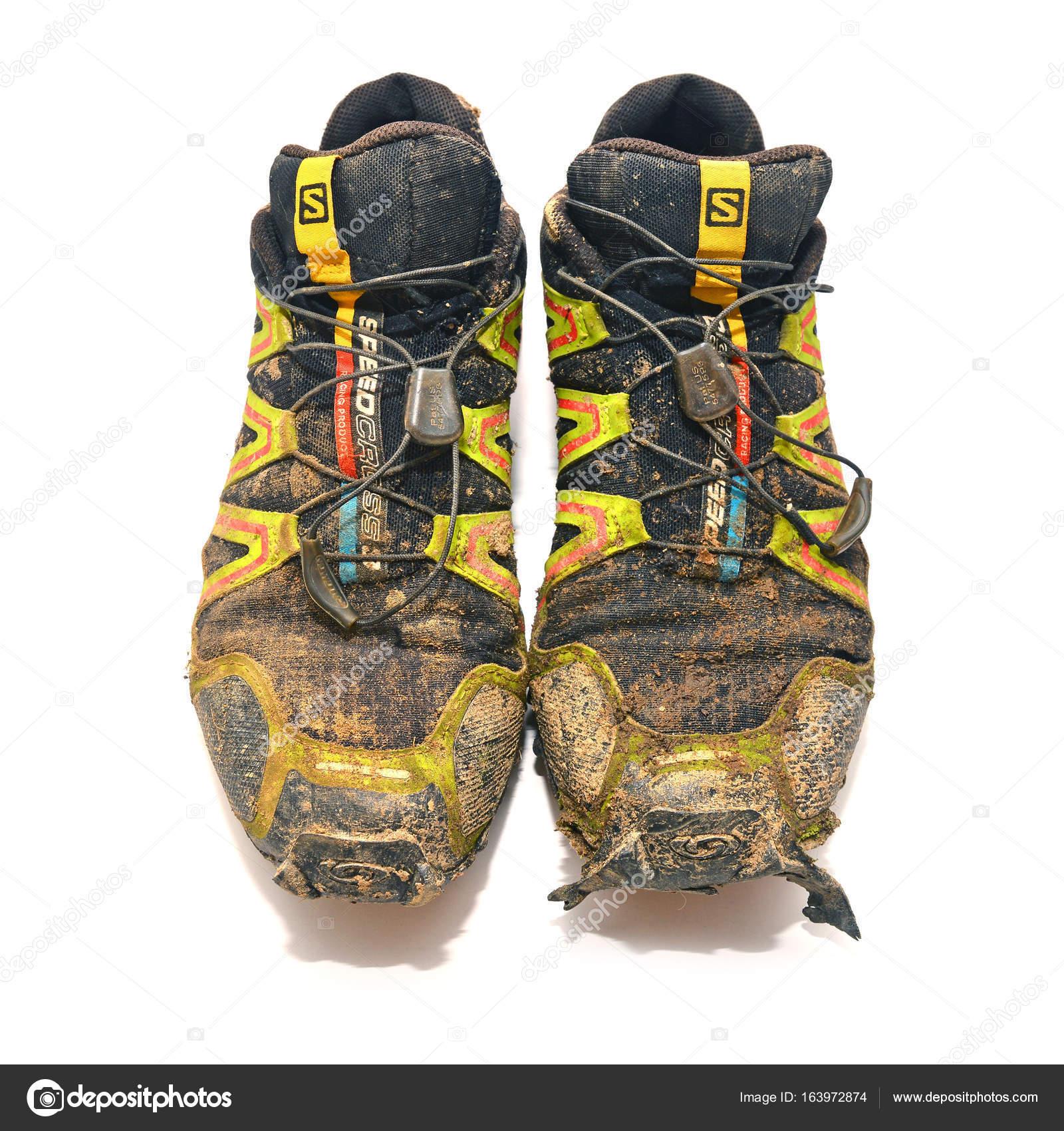 Kinderschoenen 27.Trail Schoenen Redactionele Stockfoto C Ibogdan 163972874