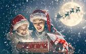 Család karácsonyi