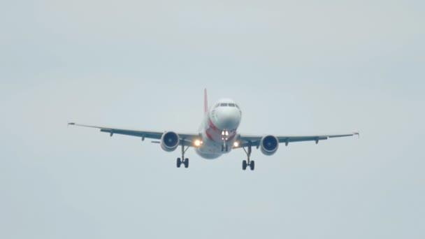 Airbus 320 landet