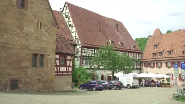Tourists in Kloster Maulbronn, monastery