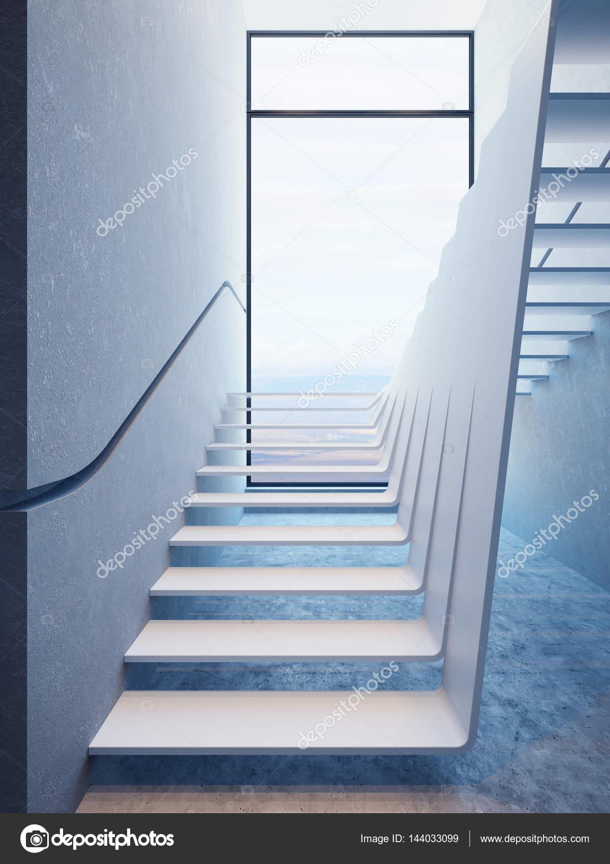 Escalier moderne en Attique — Photographie auriso © #144033099