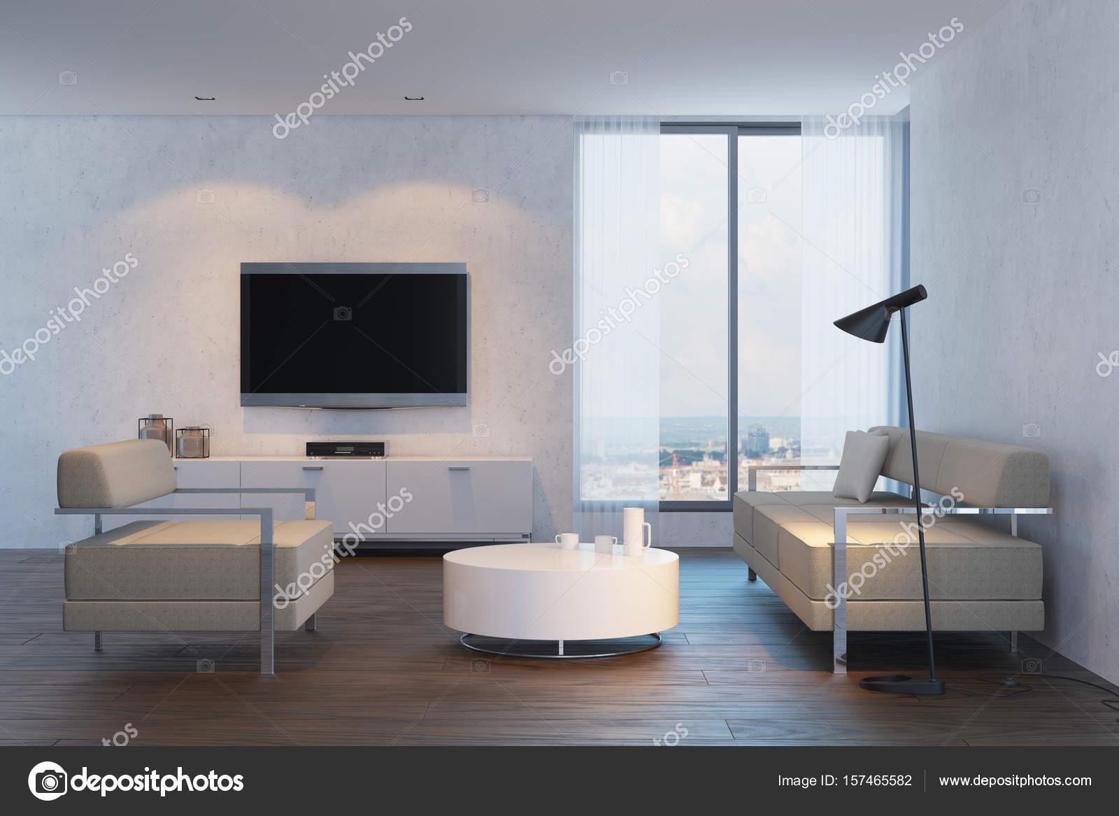 modernes Design Wohnzimmer — Stockfoto © auriso #157465582