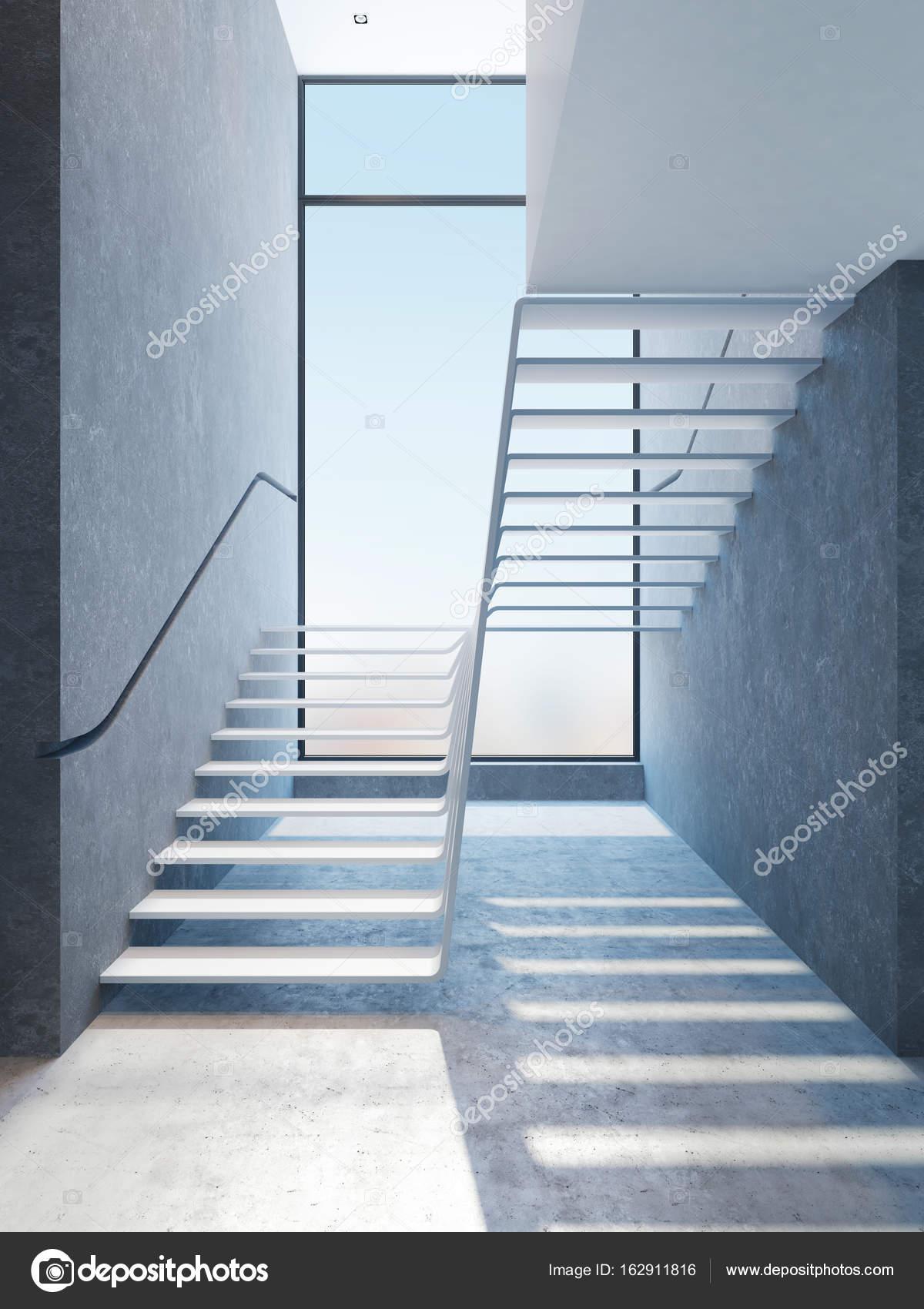 Beeindruckend Moderne Treppen Das Beste Von Im E, 3d-rendering — Foto Von Auriso
