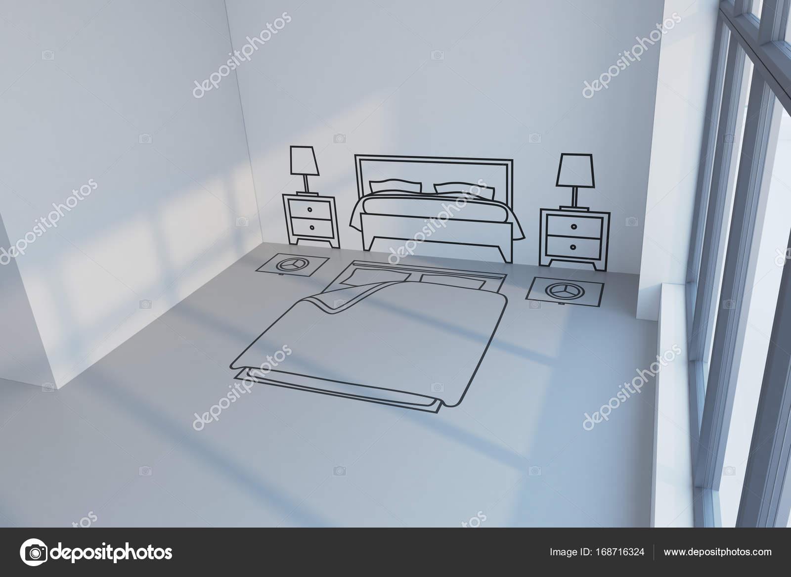 Schlafzimmer Planung Design Stockfoto C Auriso 168716324