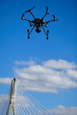 Drone for industrial works