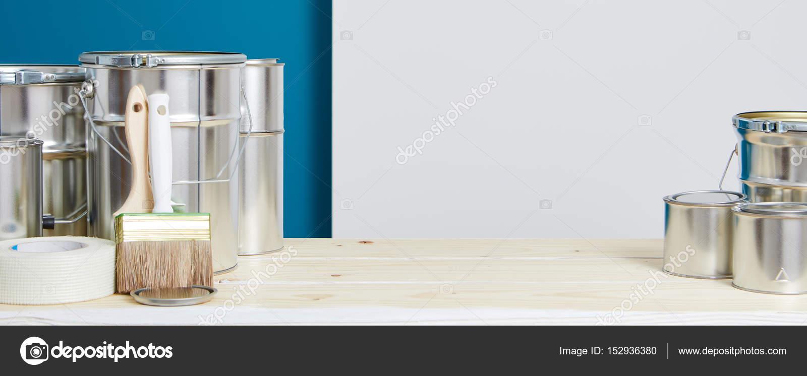 Schilderij accessoires. Interieur renovatie — Stockfoto © zoomteam ...