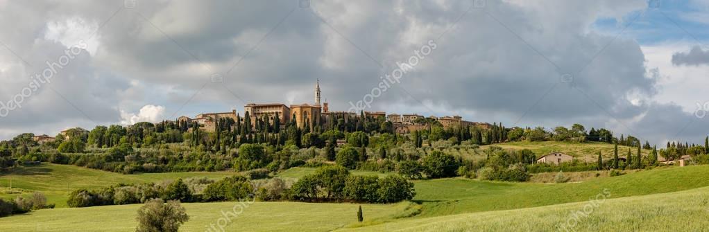 Tuscany, Pienza italian medieval village