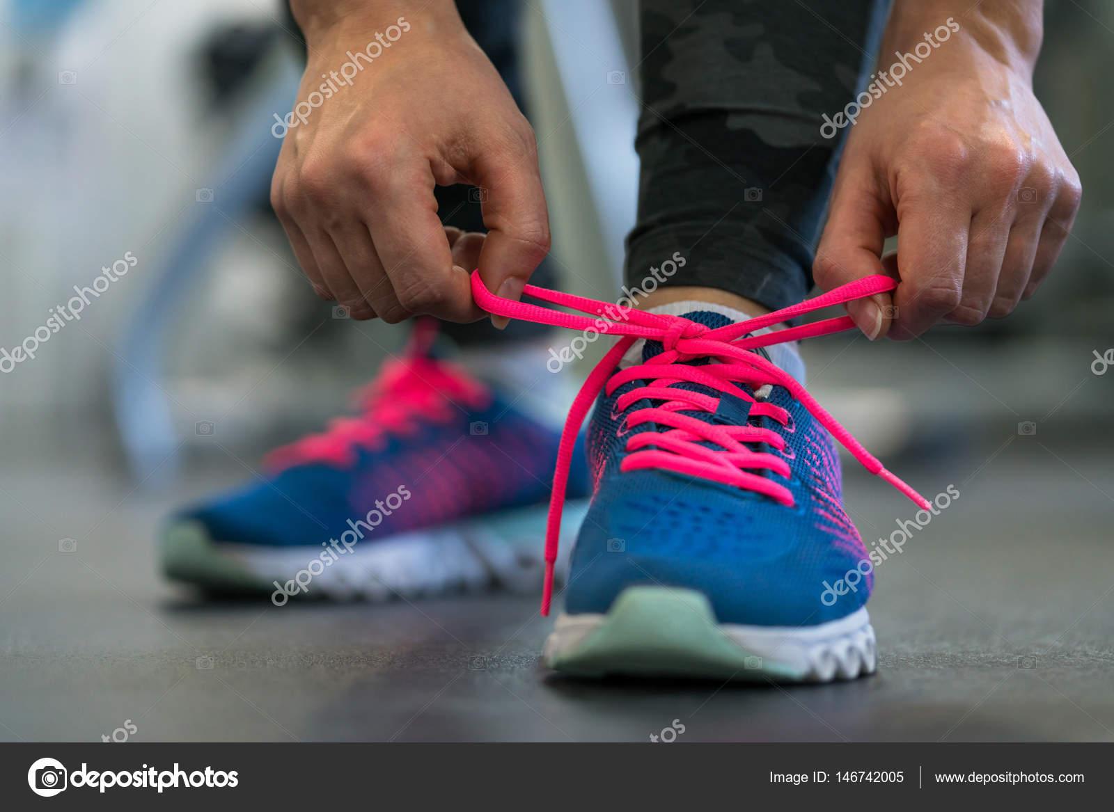 Mujer Cordones Zapatillas Atar De ZapatosPreparando Los gI7Yyvmbf6