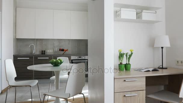 Küchen skandinavischen stil  4 k. innere moderne Wohnung im skandinavischen Stil mit Küche und ...