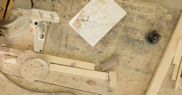 Workbench v truhlářské dílně