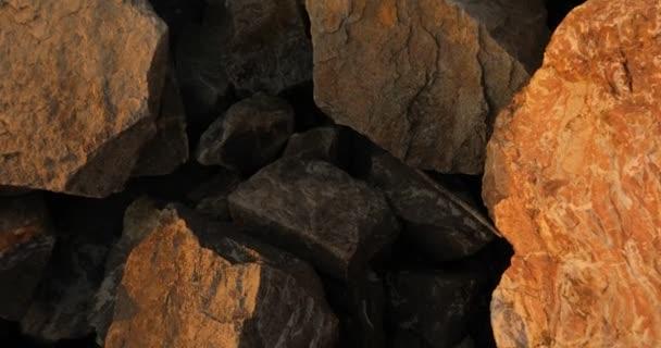 Hatalmas kövek, textúra, gránit