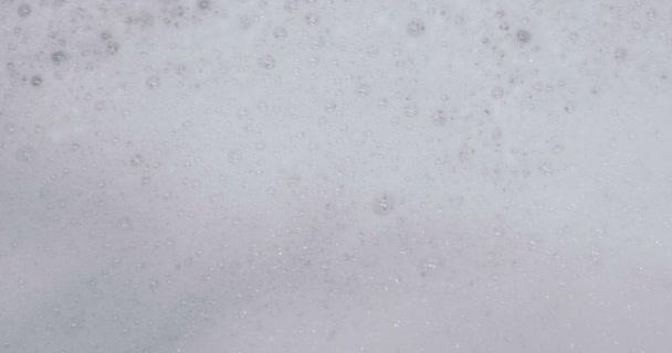 Closeup mýdlové pěny