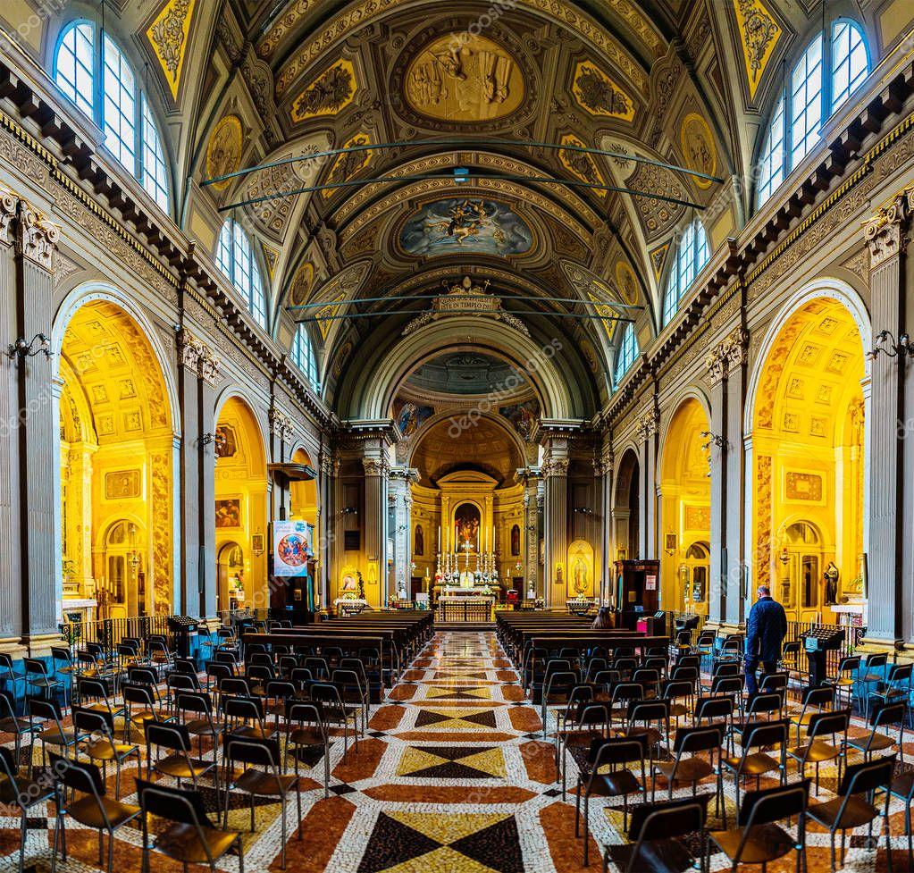 Iglesia católica Chiesa di Bologna, Italia — Foto ...