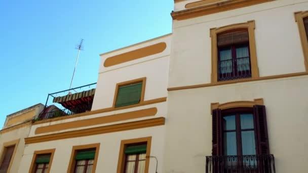 Buildings on Plaza de la Almagra in Cordoba, Andalusia, Spain