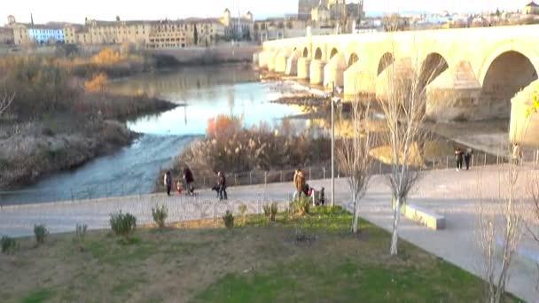 Pont Romain De Cordoue Est Le Pont Dans Le Centre Historique De La Petite Zone Protegee Appelee Sotos De La Albolafia Cordoue Andalousie Sud De L Espagne Construit Au Debut Du 1er Siecle A Travers