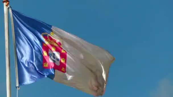 Zászlót a erőd, Lisszabon, Portugália.