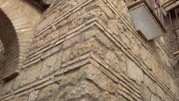 Coat of arms, lion. Calleja de la Luna in Cordoba. Cordoba is city in Andalusia, southern Spain.