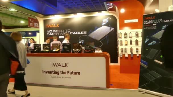 IFA, BERLIN - SEPTEMBER 5: Pavilion iWalk at International radio exhibition Berlin, Messe, Germany.