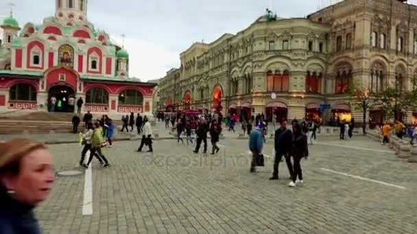 Kathedrale unserer lieben Frau von Kazan ist Russisch-orthodoxe Kirche befindet sich auf der nordöstlichen Ecke des Roten Platzes in Moskau, Russland.