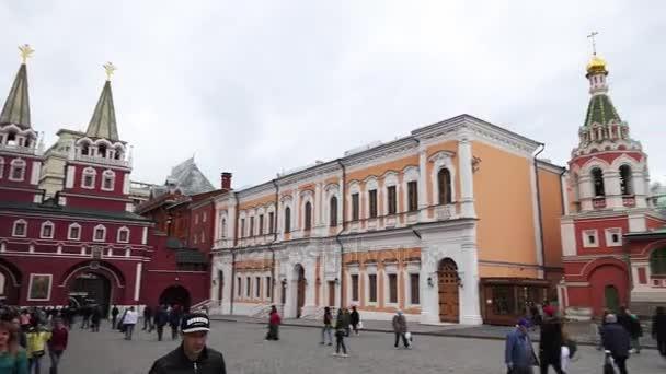 Kathedrale unserer Herrin von Kasan, ist eine russisch-orthodoxe Kirche, die sich an der nordöstlichen Ecke des Roten Platzes in Moskau, Russland befindet.